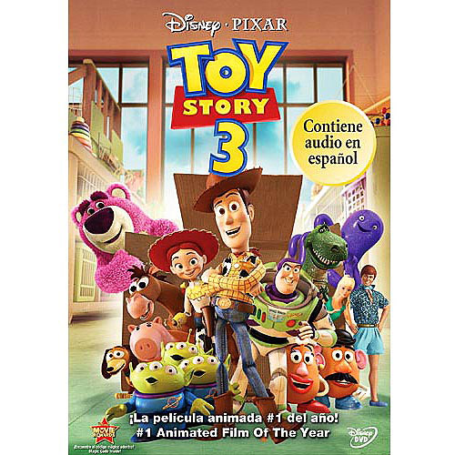 Toy Story 3 DVD: Spanish Edition