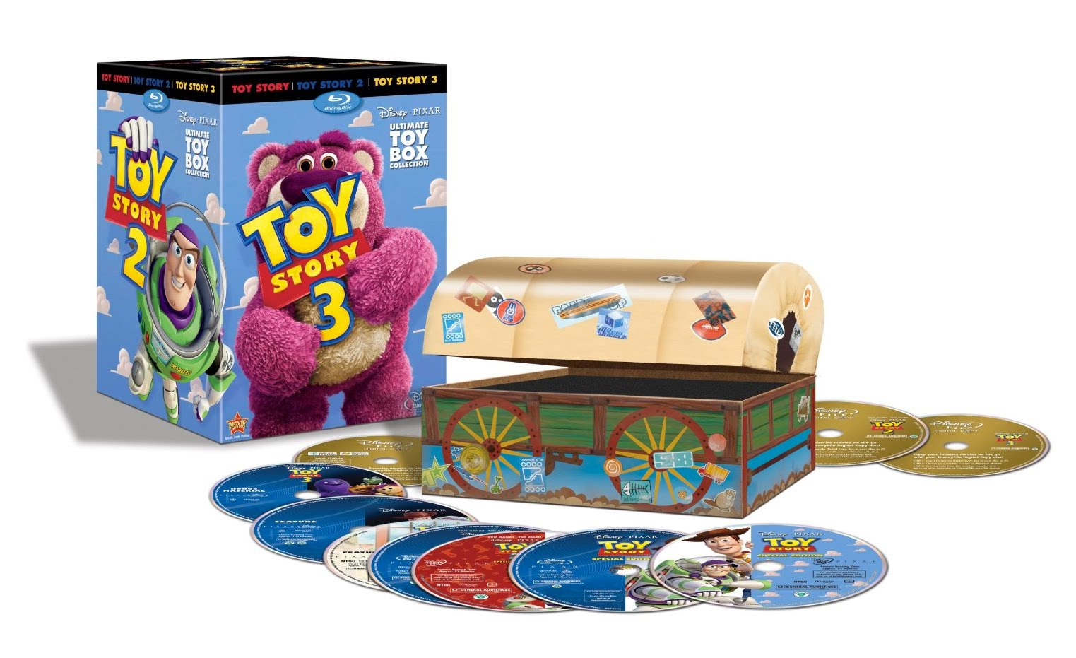 Al's Steal of the Day: Get 50% Off Complete 'Toy Story' and 'Cars' Blu-ray/DVD Box Sets