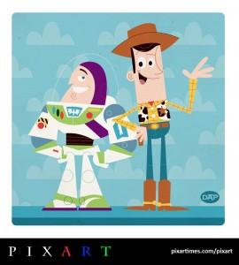 Buzz and Woody by Dave Perillo