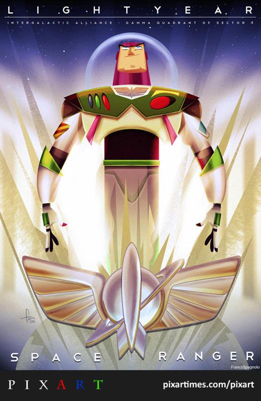 PixArt: August 2011 Feature – Buzz Lightyear, Space Ranger