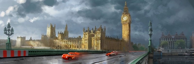 Cars 2 Concept Art Released