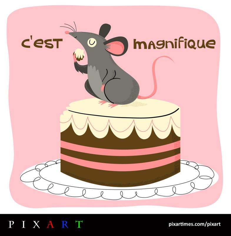 PixArt: May 2011 Feature II – C'est Magnifique