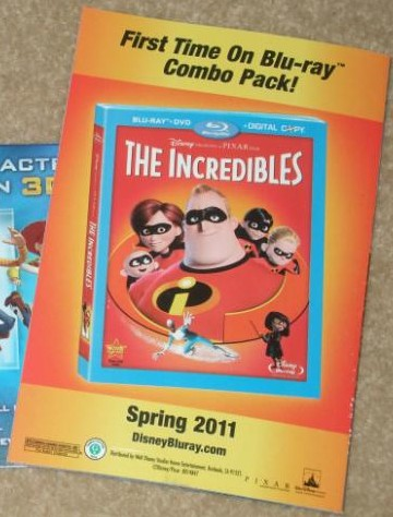 The Incredibles Coming To Blu-ray In Spring 2011