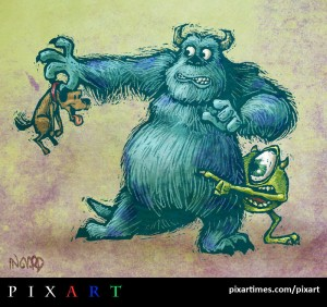 Monsters Inc by Ingvard The Terrible