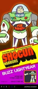 Shogun Warrior Buzz by Barry Prioste