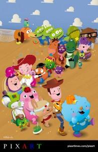 Toy Story Bubblefriends by Sascha Preuss