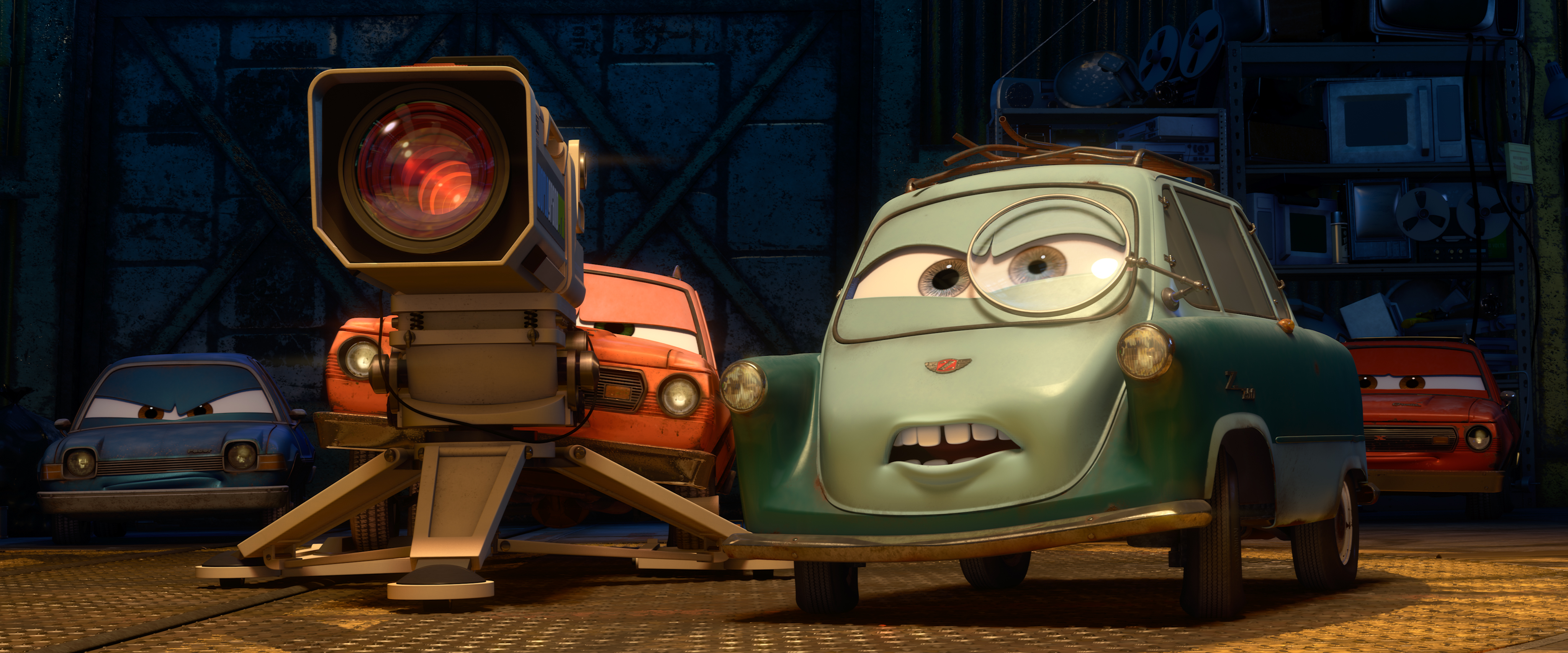 New Cars 2 Ad Parodies Popular TV Shows, New Clip Released