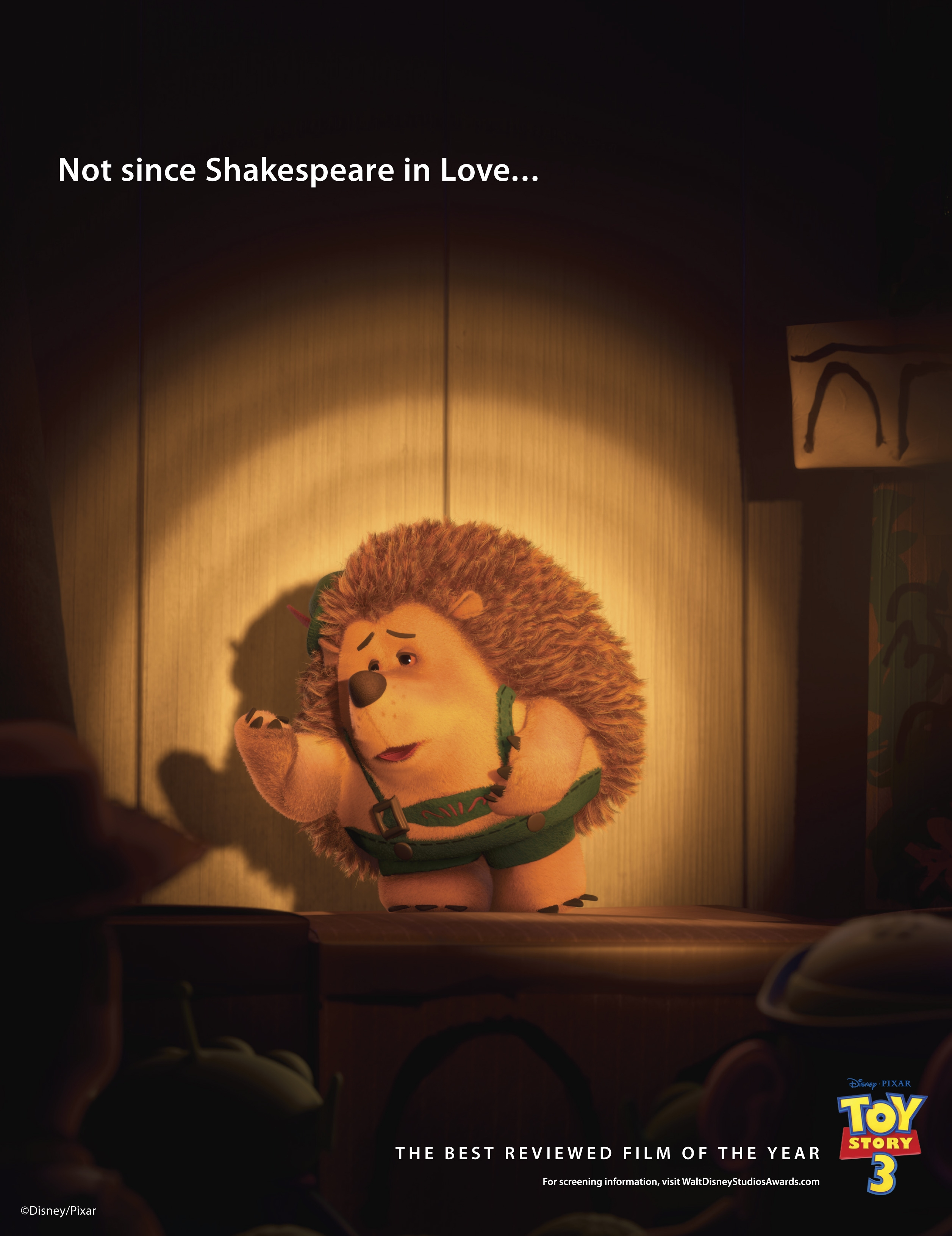 Disney/Pixar To Mount Huge Award Consideration Campaign For Toy Story 3