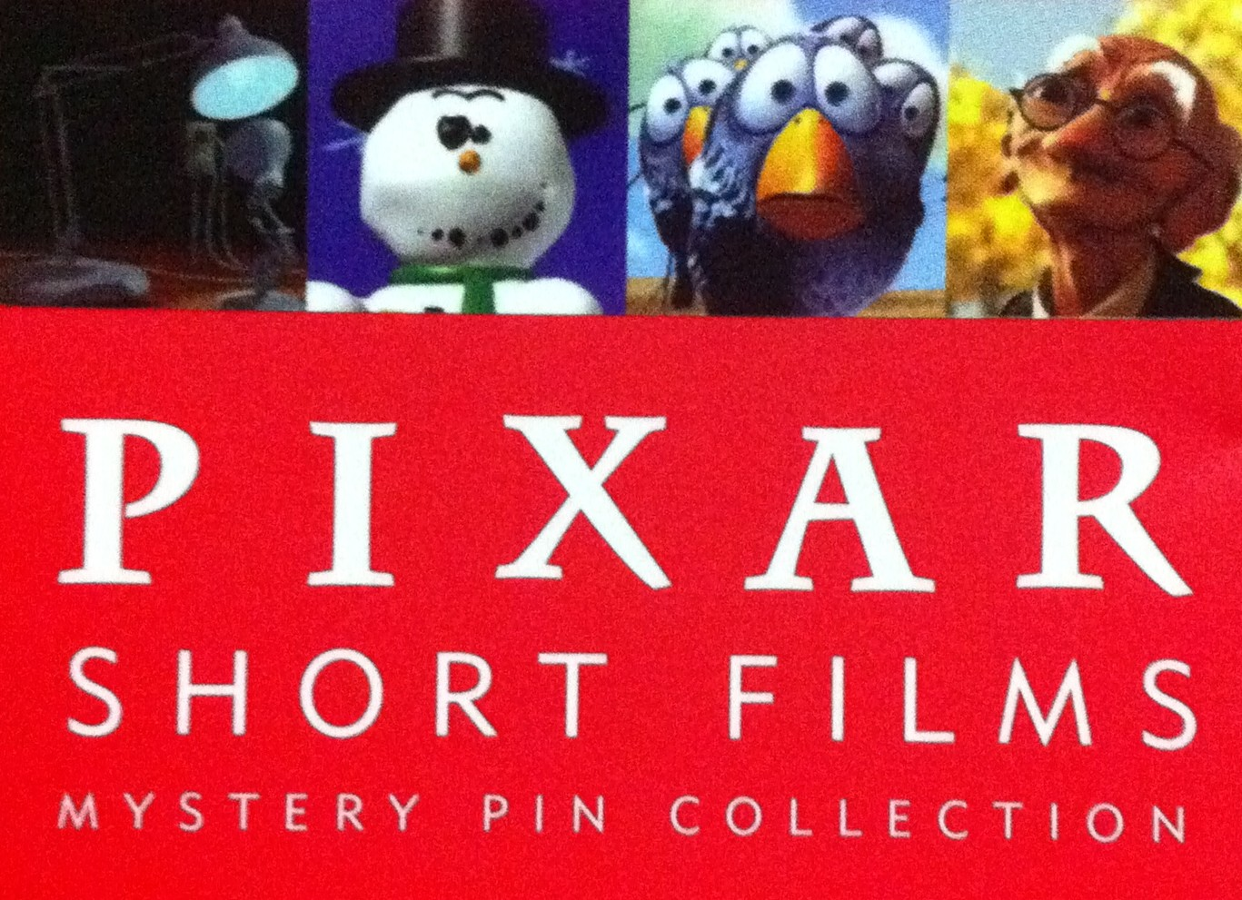 Pixar Short Films Mystery Pin Collection