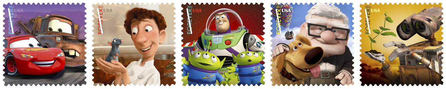 D23 2011: USPS Pixar Stamps Now Available + How You Can Order Some