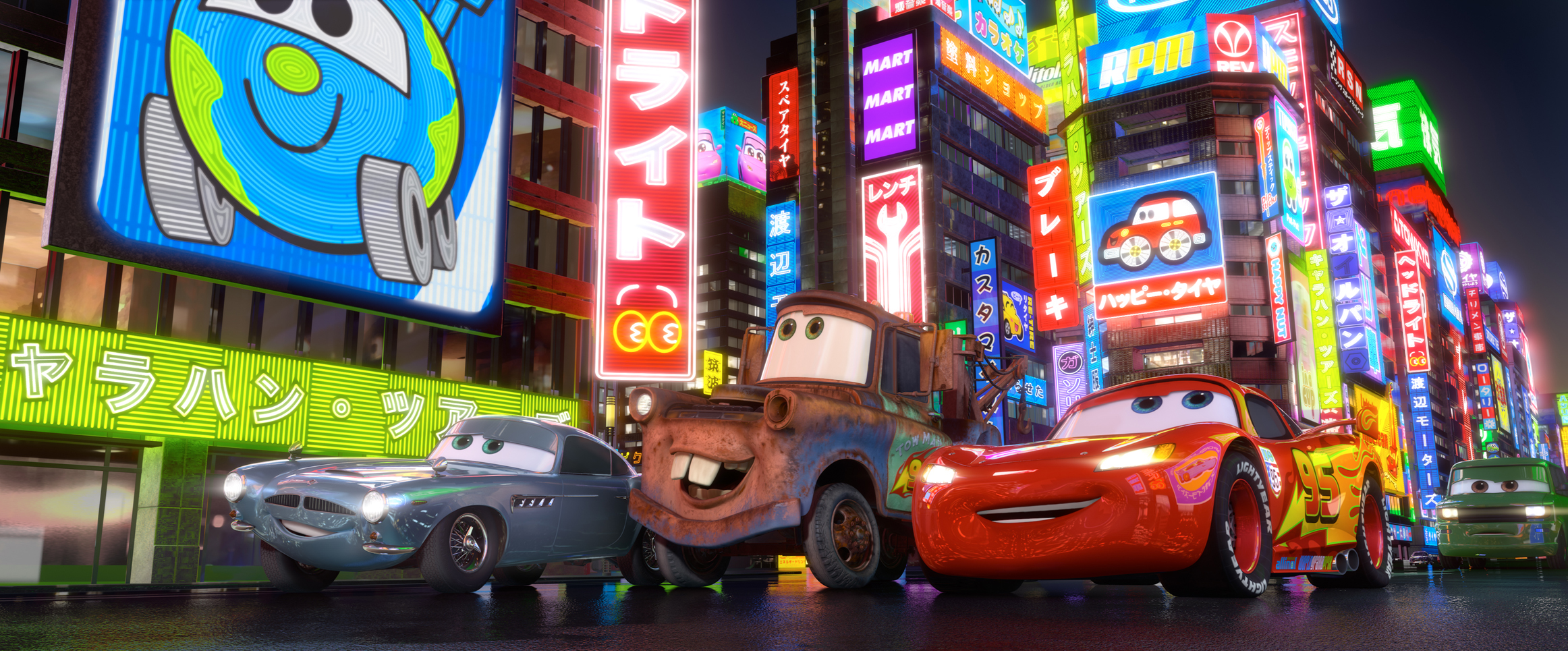 New Image From Cars 2 Shows Off Japan