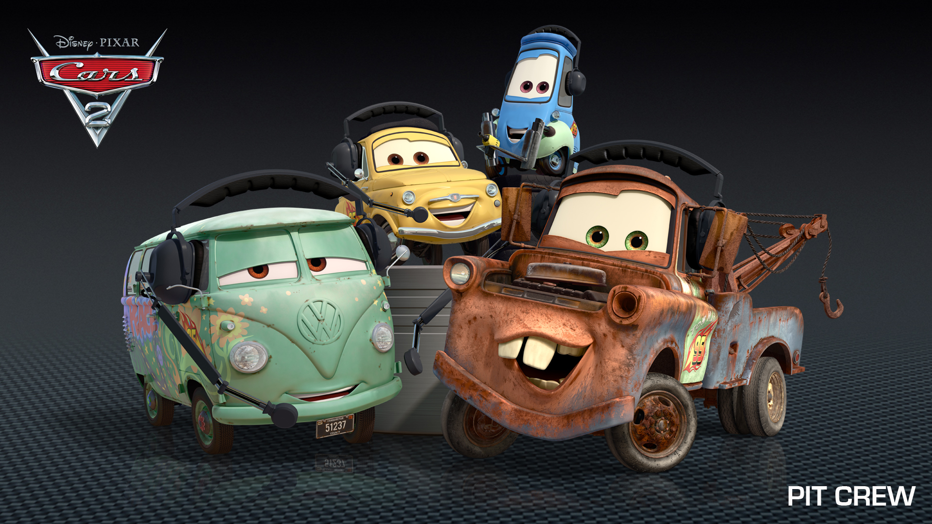 Cars 2 Character Images, Descriptions, Video