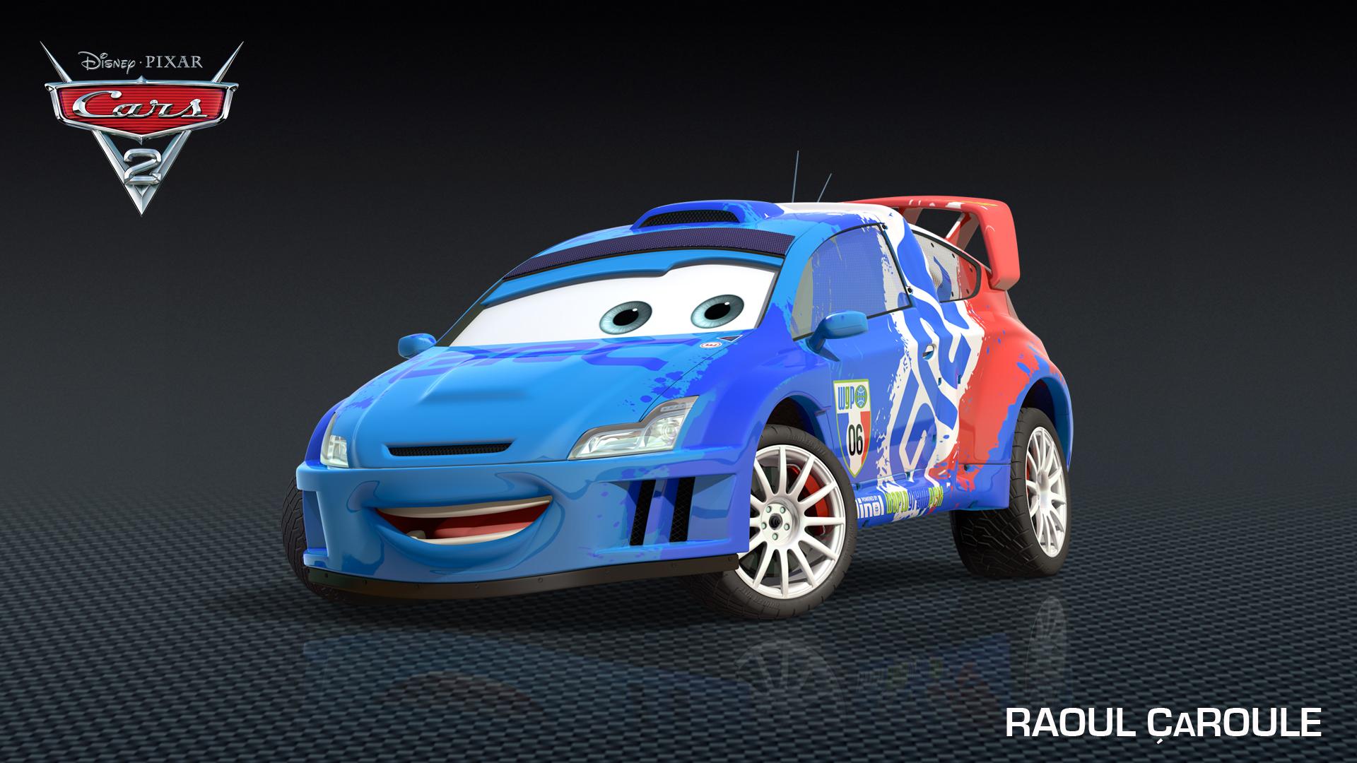 Raoul ÇaRoule Drives Into Cars 2