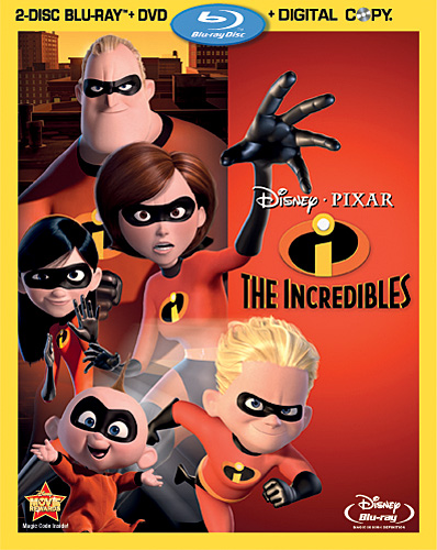 The Incredibles Blu-ray Details, Cover Image