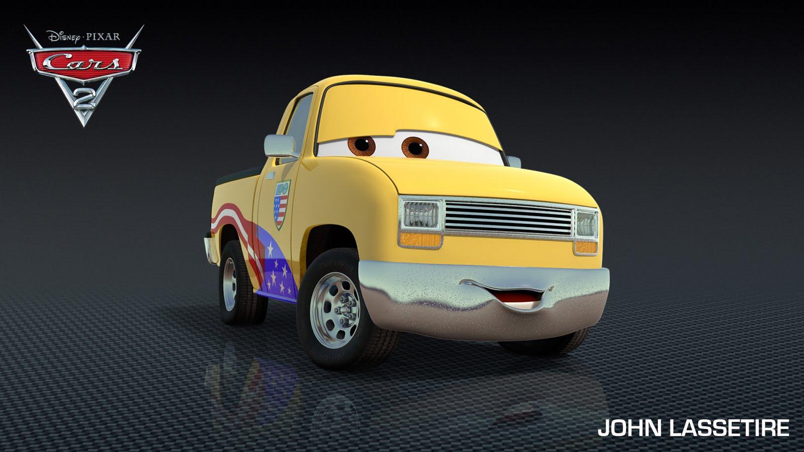 John Lasseter to Cameo in Cars 2