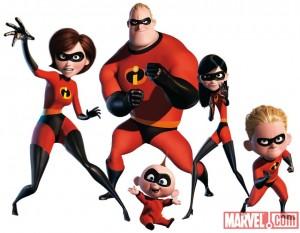 Disney Pixar Presents Incredibles Magazine #1