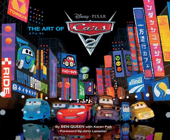 Book Review: The Art of Cars 2 HC