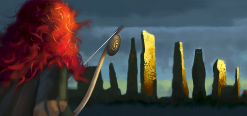 First Look: Brave Concept Art. Also, Behind-the-Scenes Changes.