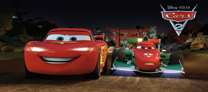 Pixar Website Features New Cars 2 Image