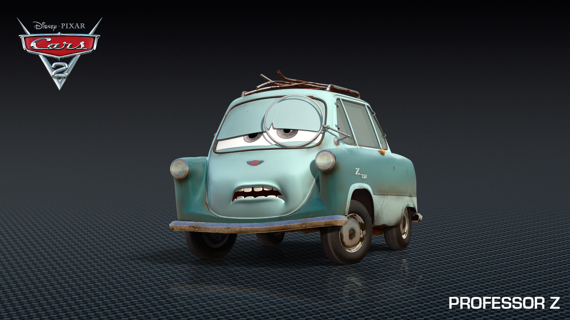 Professor Z, Tomber Drive Into Cars 2