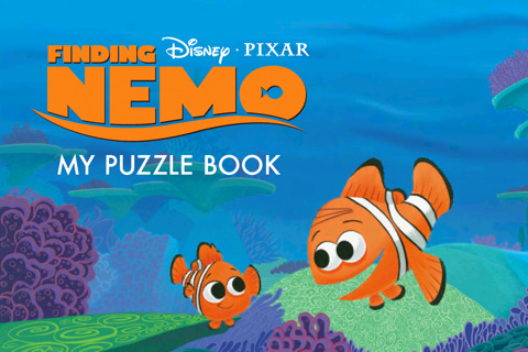 Finding Nemo Puzzle Book App Released For iOS Devices