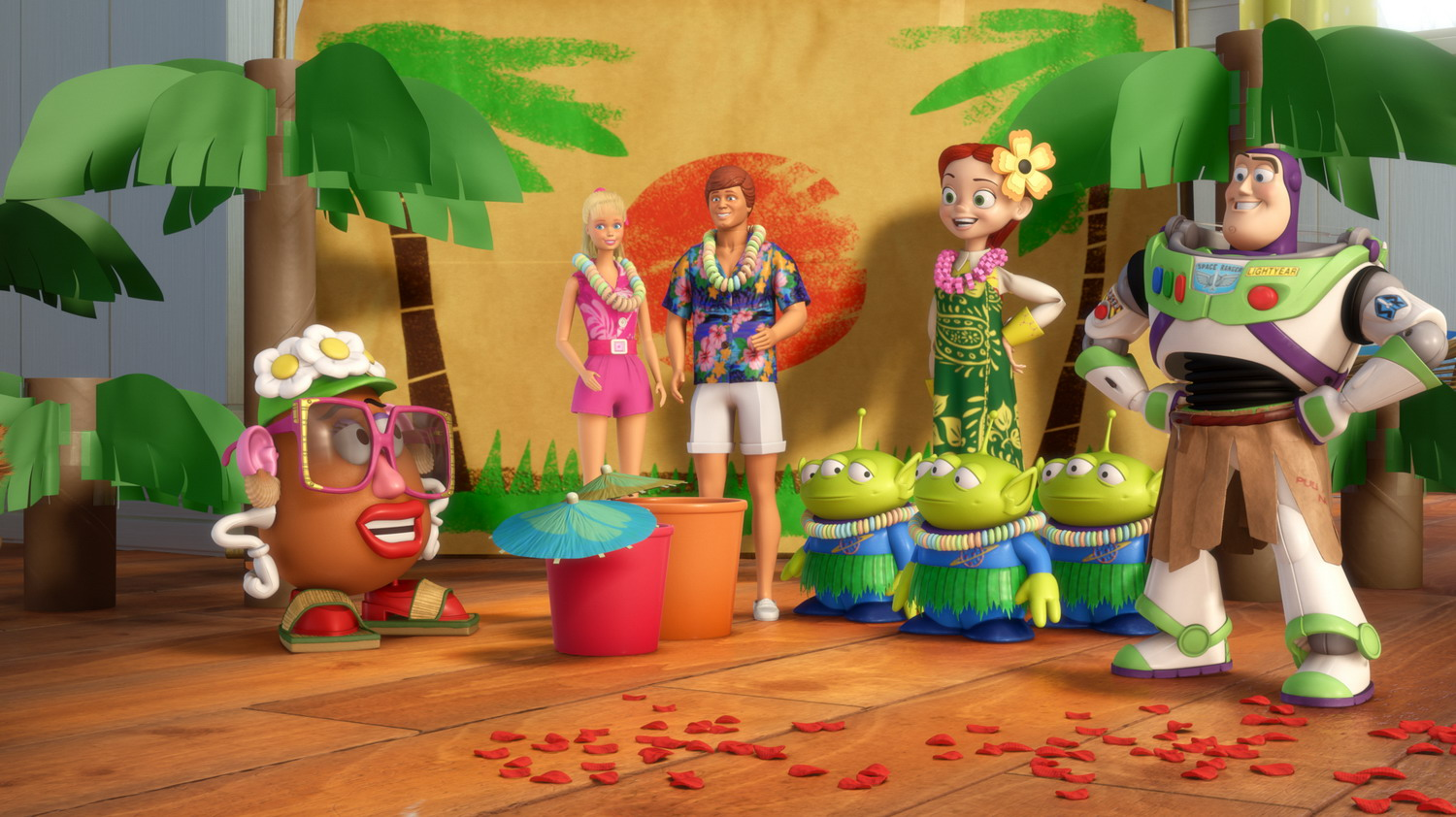 Disney Shareholders First To See Toy Story: Hawaiian Vacation