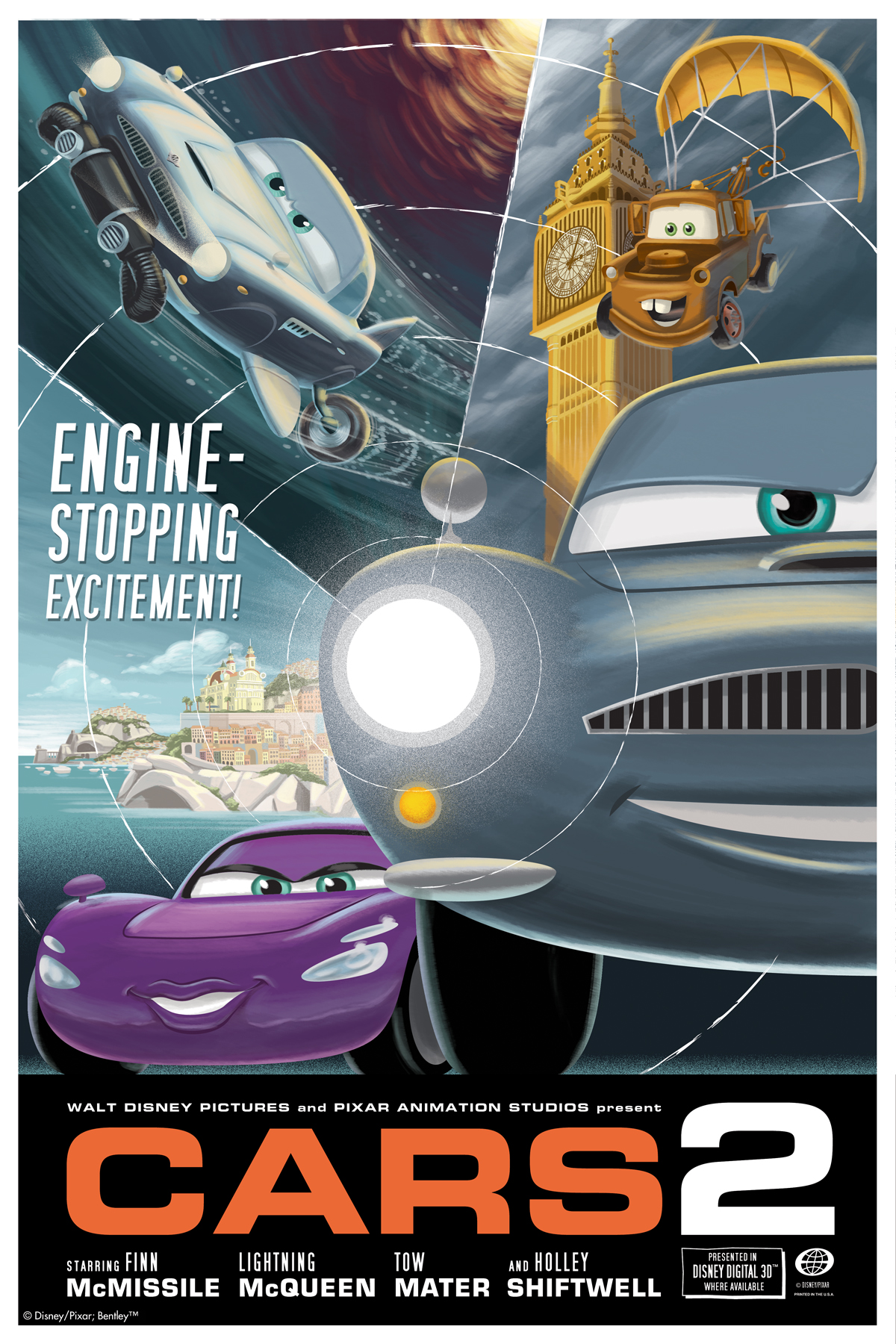 New International Cars 2 Retro Posters Released