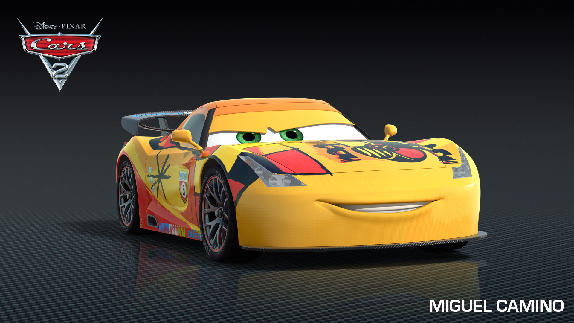 Max Schnell, Miguel Camino Drive Into Cars 2
