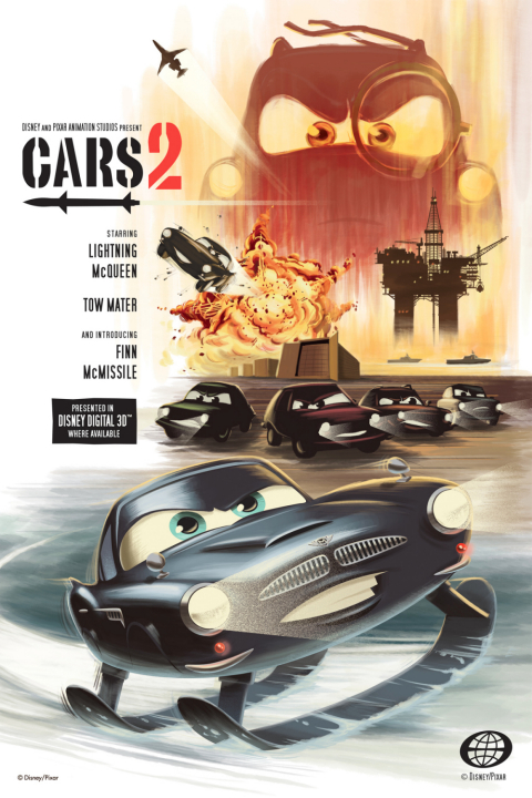 Three New Cars 2 Retro Posters Debut