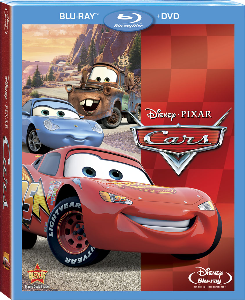 Review: 2-Disc Cars Blu-ray/DVD Set