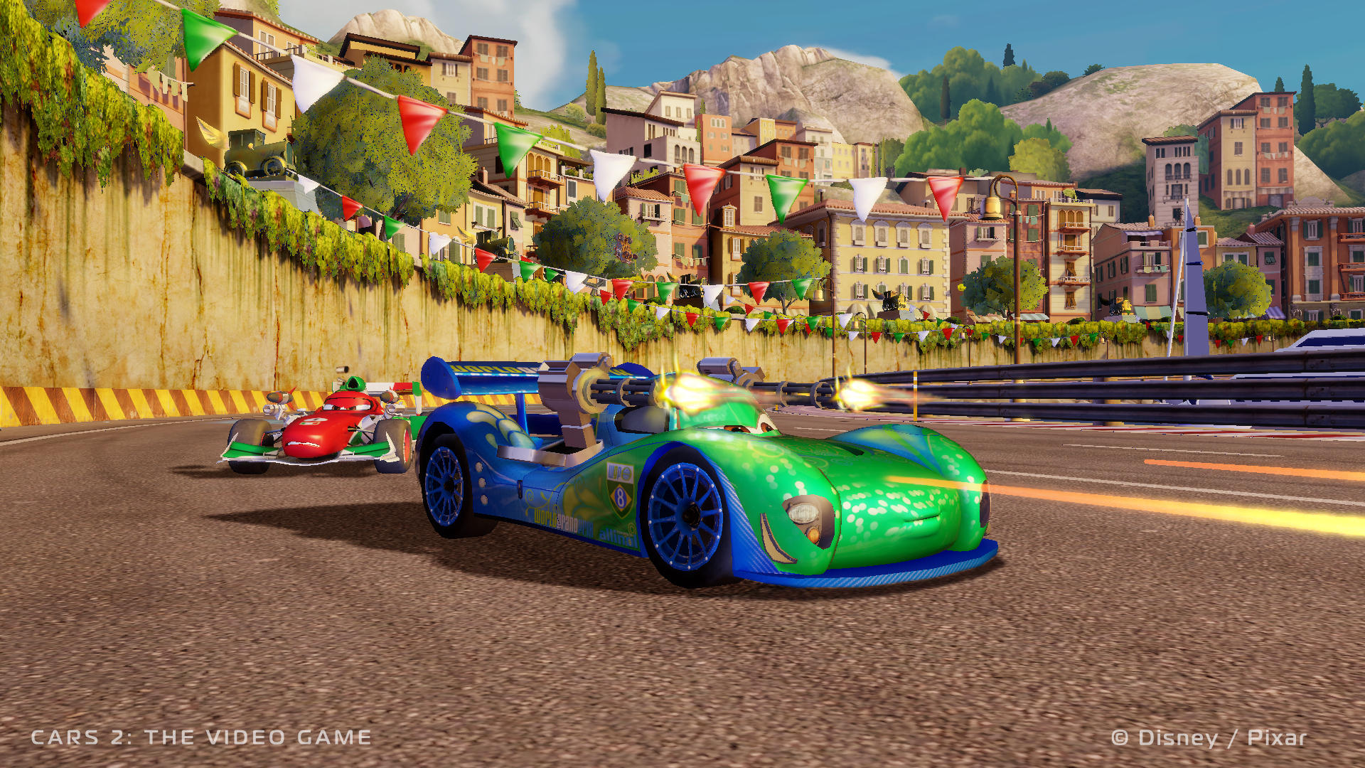 New Cars 2 Video Game Trailer – The Elite