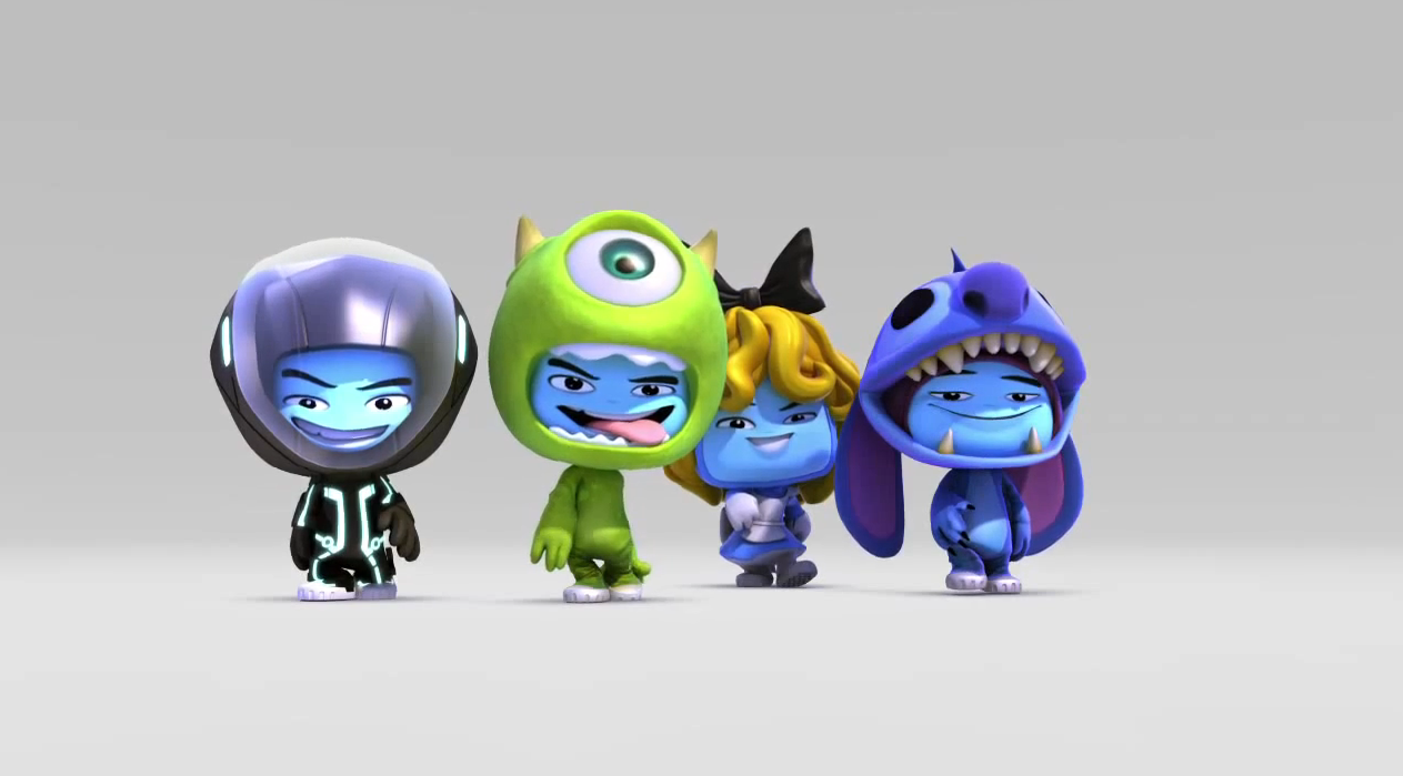 Disney Universe Game To Include Pixar Characters