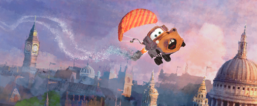Pixar Website Yields More Cars 2 Concept Art