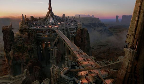 Disney: John Carter Teaser Poster, Concept Art Released