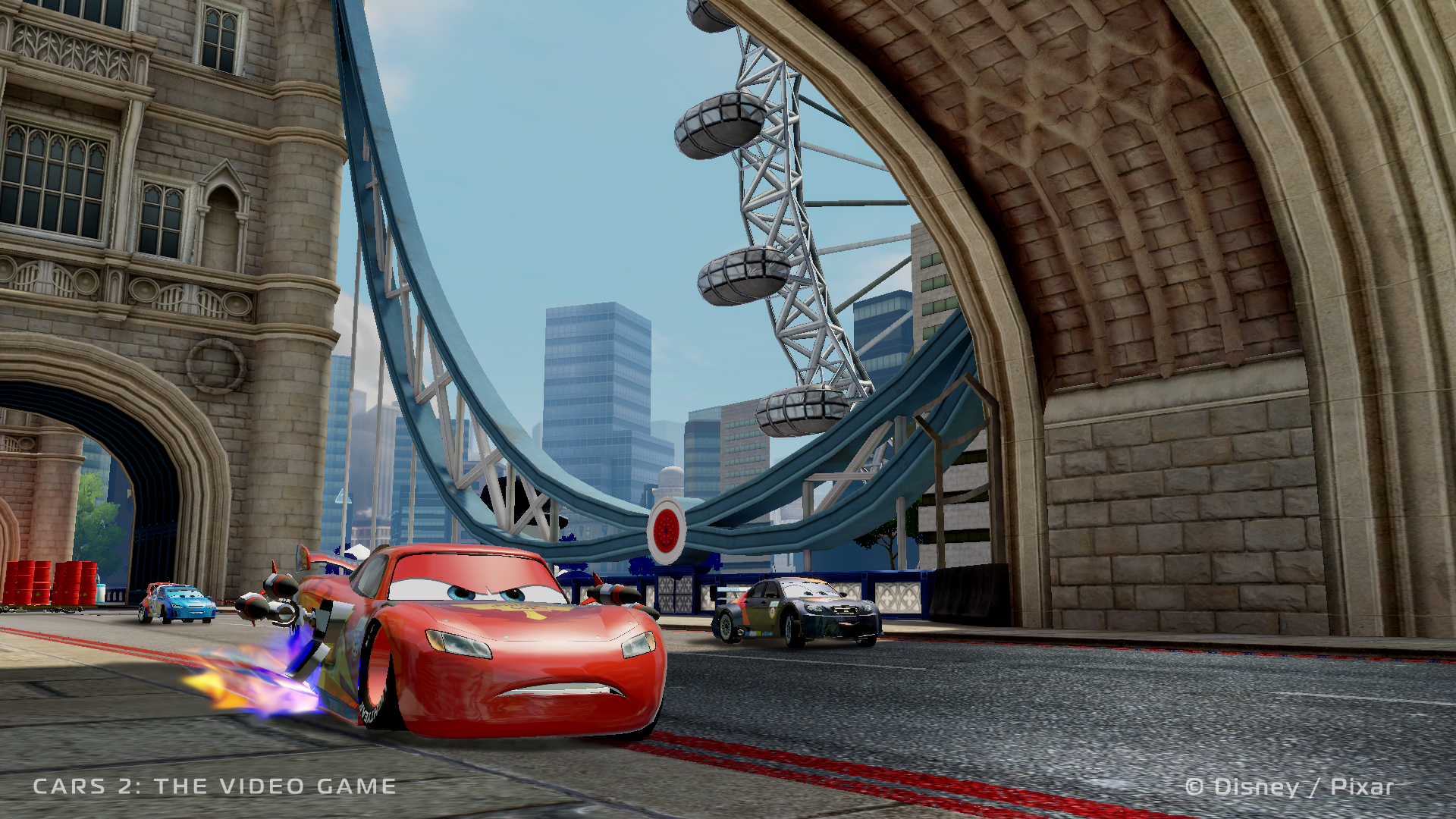 Cars 2 Video Game Available Now
