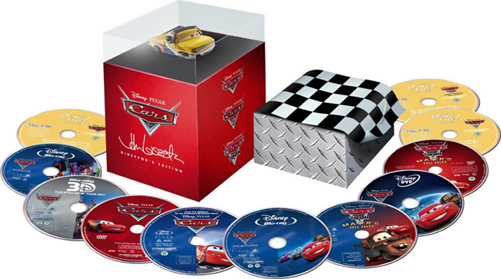 Cars 2 Blu-ray Sets Available For Pre-order
