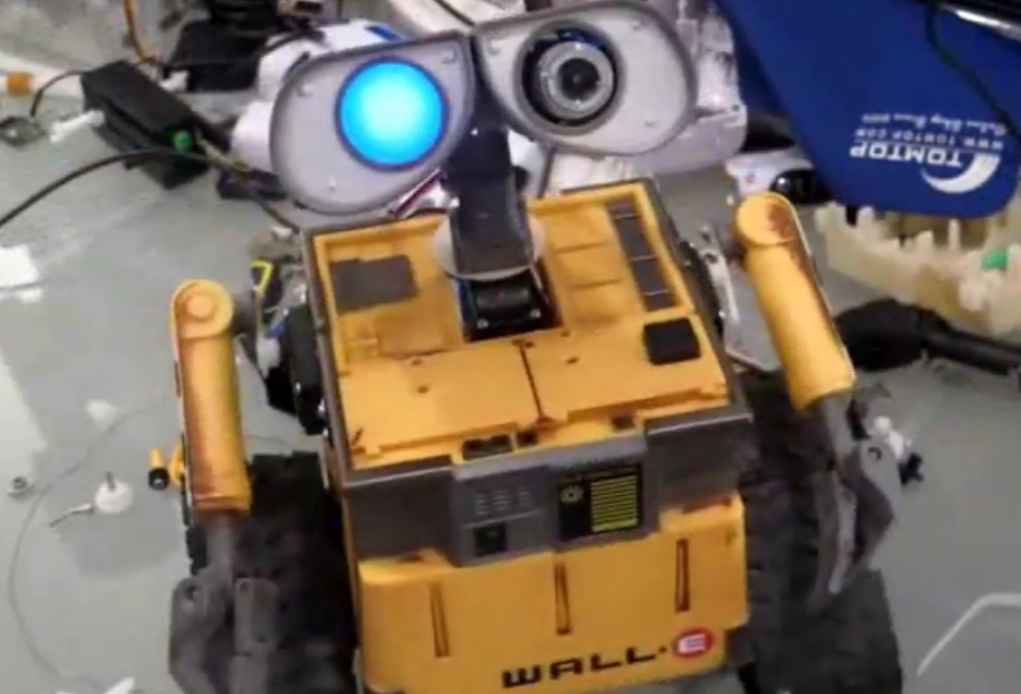 Video of the Day: Real-Life WALL-E