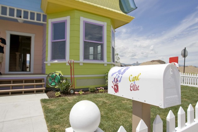 'Up' House In Danger Of Losing Its Colorful Charm