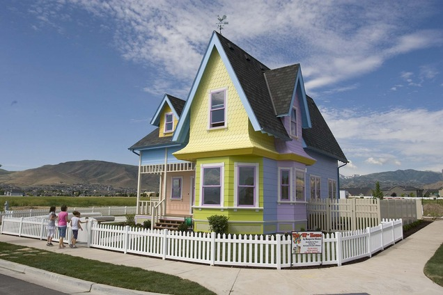'Up' House Sold To Disney/Pixar Fans