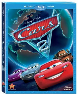 Cars2 Blu-ray Combo Pack