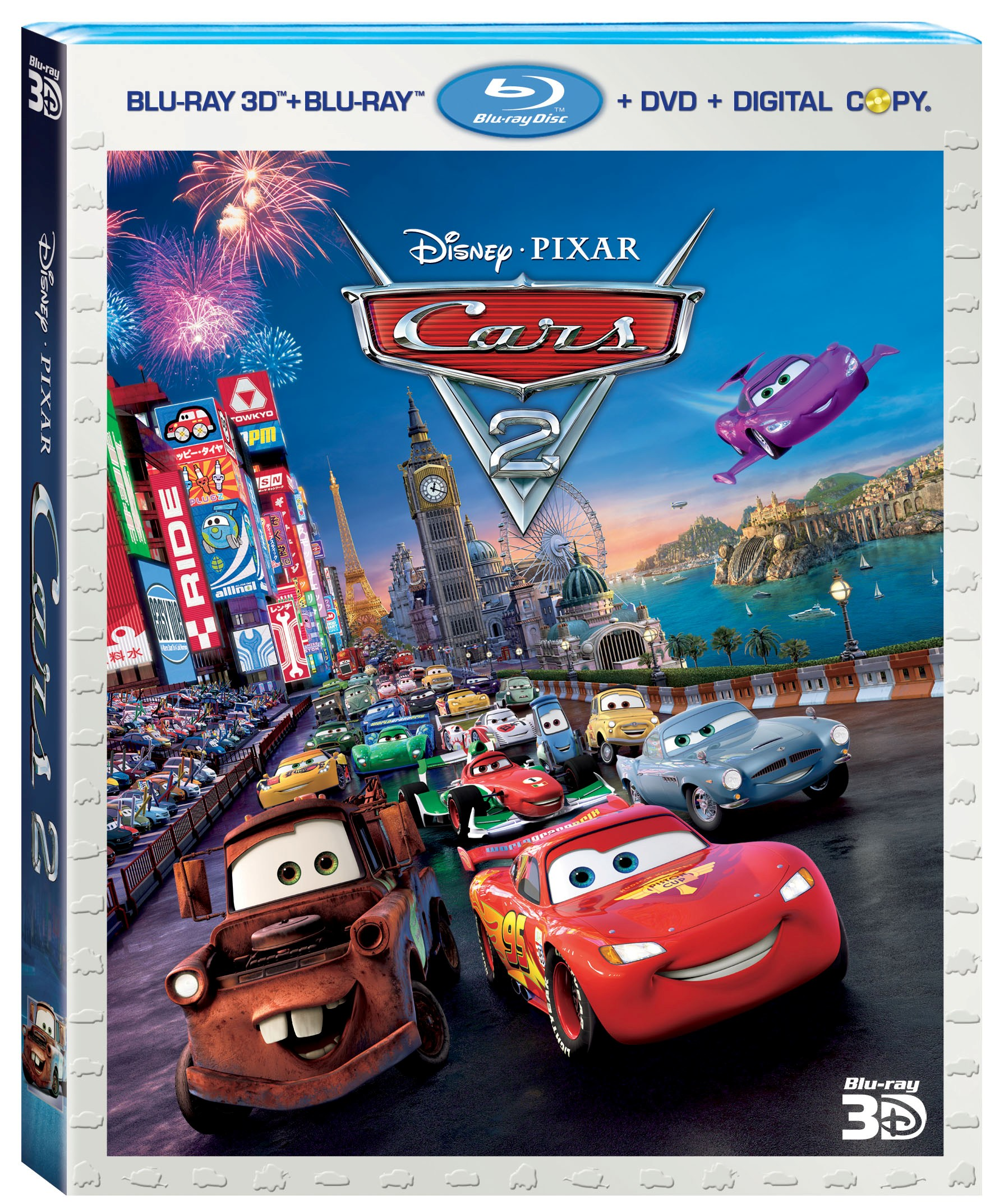 Video Previews: 'Cars 2' Blu-ray/DVD Special Features