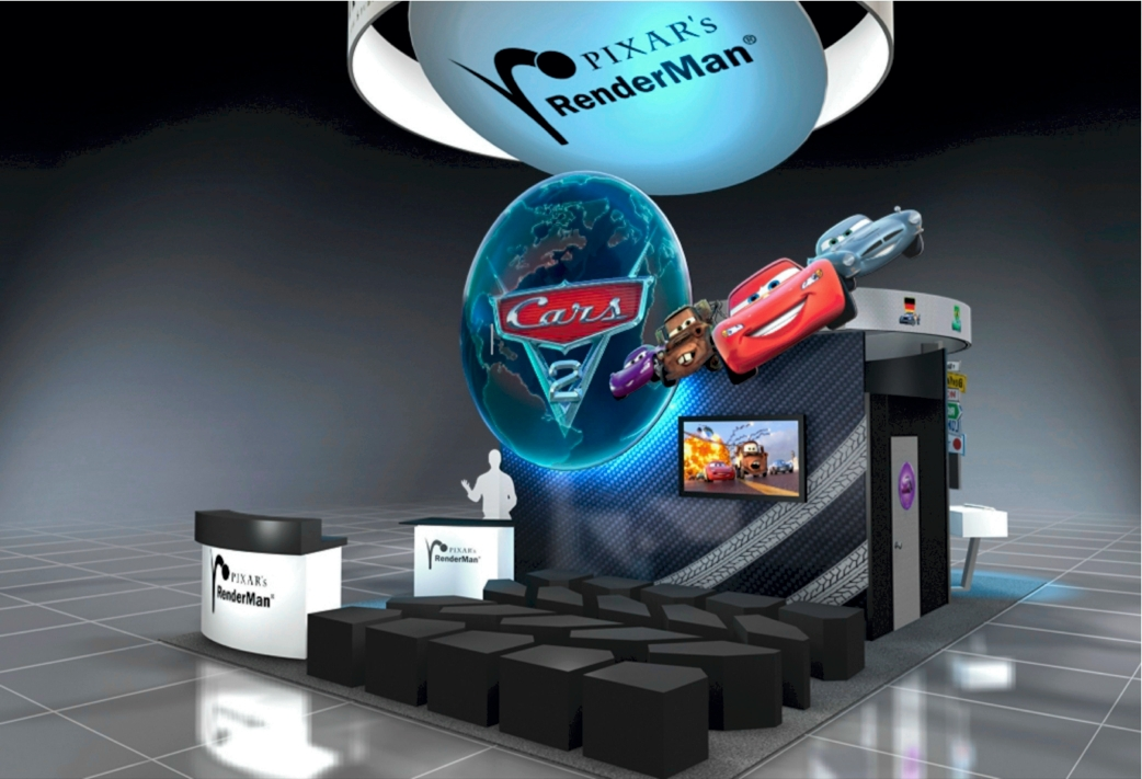 Pixar's RenderMan SIGGRAPH Booth Oozes With Creativity + Pixar Speaker Schedule
