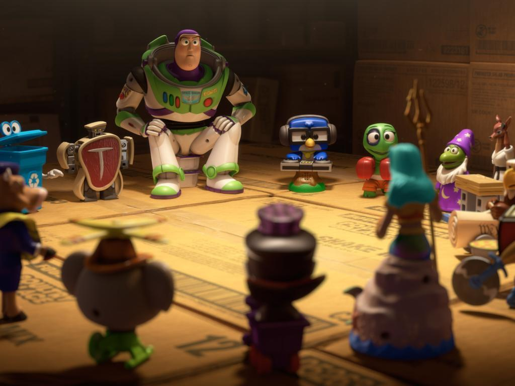 Watch: Clip From 'Toy Story – Small Fry'