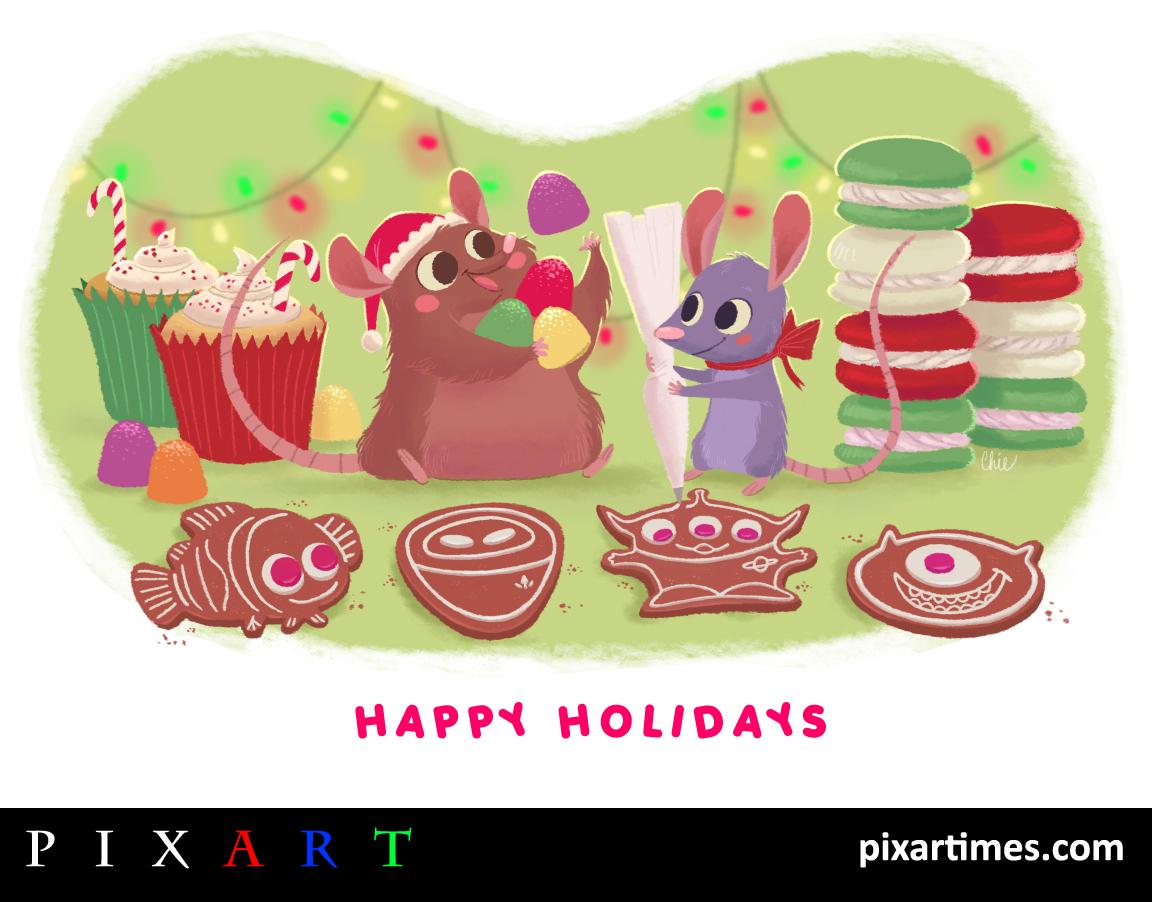 PixArt: December 2011 Feature II – Happy Holidays
