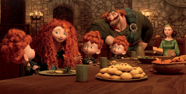 Watch: New 'Brave' Clip Gives Us A Peek At Merida's Family