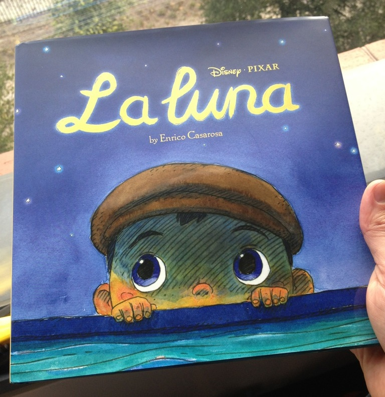 'La Luna' Hardcover Coming Soon