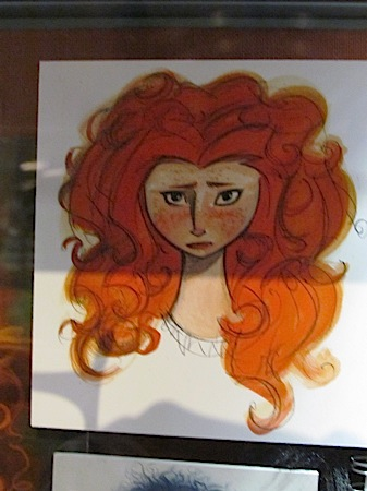 Closer Look At 'Brave' Pre-Production Art At Disney World