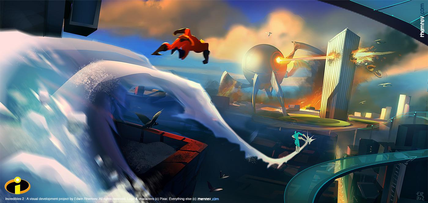 Pixar Concept Art