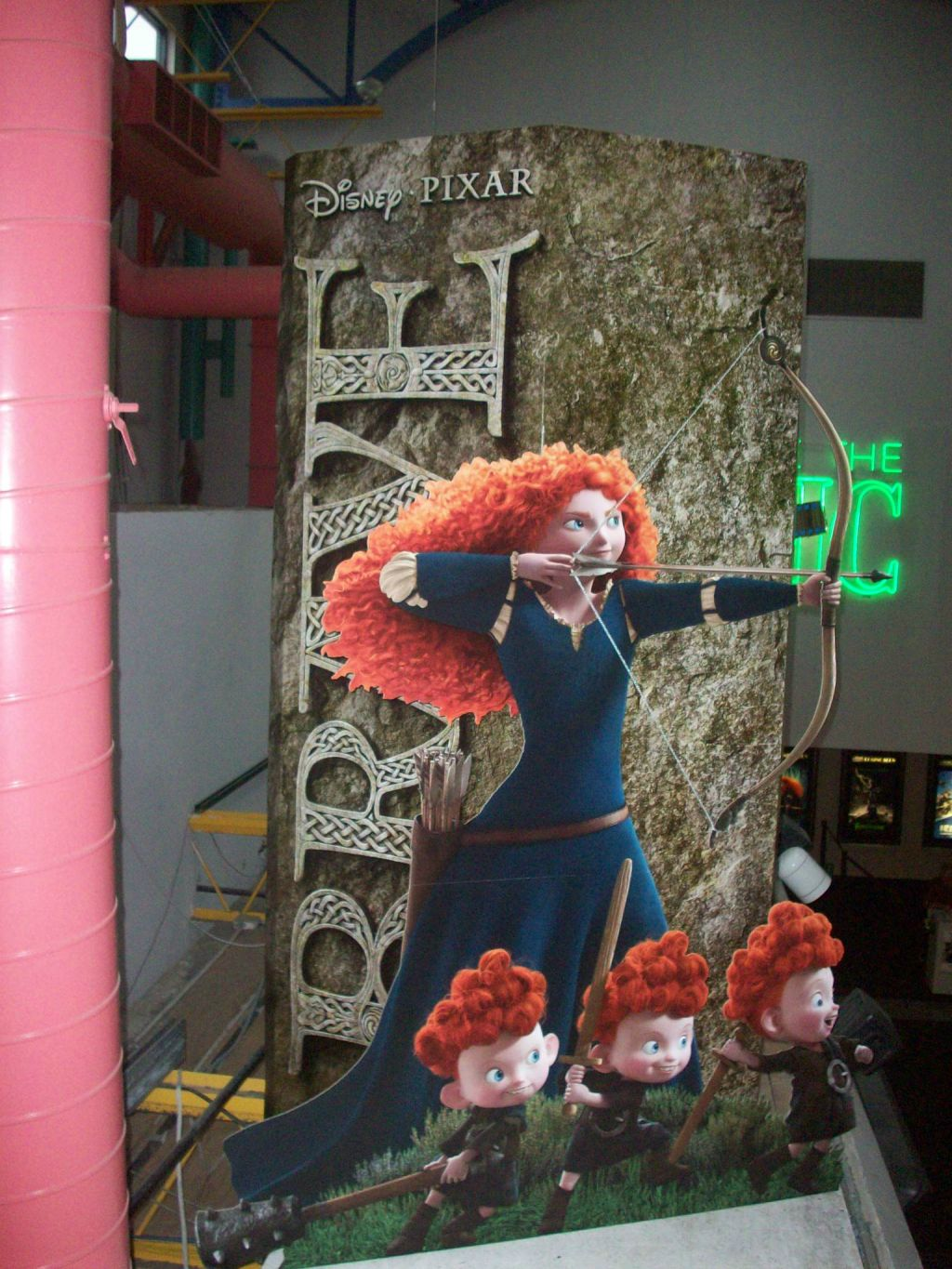 'Brave' Standees Start Hitting Movie Theaters