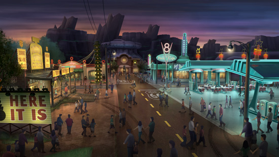 Watch: Behind the Scenes of Cars Land